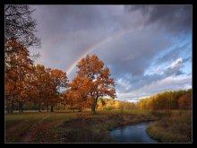 Восеньскiя вяселкi... / река Ислочь