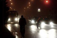 Несколько слов о вечернем тумане / Туман на улице большого города совсем не то что малом городке