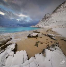 Haukland Beach / Лофотены, Норвегия