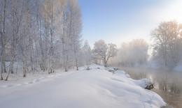 Морозное утро. / Истра