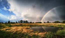 После дождя / Лето в деревне