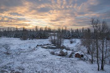 Без названия / утро,снег,зима