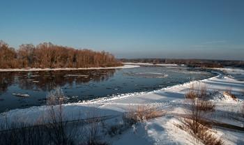 Зимний пейзаж / Березина