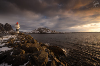 Lighthouse in Reine / Лофотены, Норвегия
