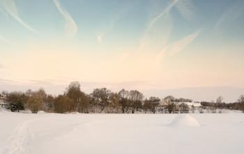 В студёную пору.. / Зимнее утро