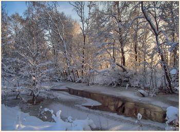 После снегопада / На берегах безымянной речки.