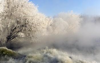 Бурлящий поток / Озеро Горячка.