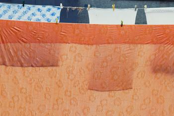Белье сохнет в Редкино осенью 2009 / Белье сохнет в Редкино осенью 2009