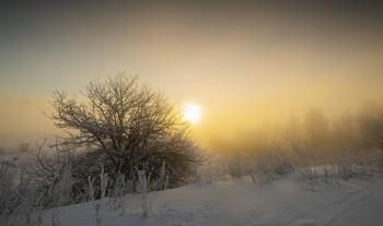 Дыхание морозного утра / Зимние туманы.