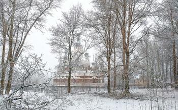 С Рождеством! / Павловск. Храм Святого Николая Чудотворца.