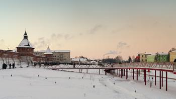 Рождественские гулянья / Вечер у Тульского кремля.