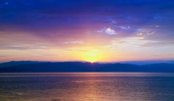 Солнечный проблеск / Рассвет на о.Корфу