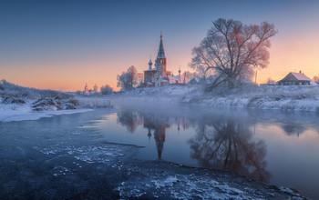 Морозные отражения / С. Дунилово, Ивановская область