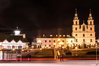 Вечерняя Немига | Evening Nemiga / Минск. Собор Сошествия Святого Духа