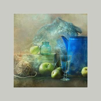 """синий чайник в квадрате / арт резиденция """"Звоз""""  music: Moddi - House by the Sea https://www.youtube.com/watch?v=lX5FpPP4TSA"""