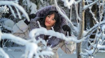 Оля в лесу / Модель Ольга
