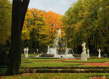 Осенний фонтан / ***