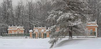 Менажереи в усадьбе Кусково... / Здания XVIII века для зоопарка редких птиц...