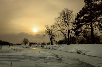 Ночь на Рождество / Сибирь, зима, Рождество