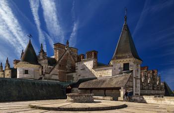 Замок Амбуаз. / Франция.