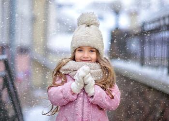Зима в городе /