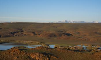 Долина Тыдтуярык / Долина в районе Курайского хребта на Горном Алтае