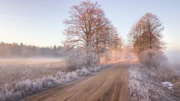 Близкое далёко / Морозная дорога к Неману Март прошлого года отголоски зимы