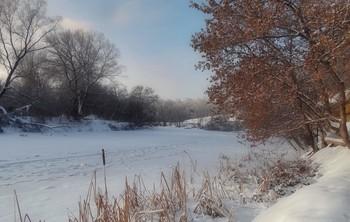 Зимний Орлик / Зимний Орлик на окраине города