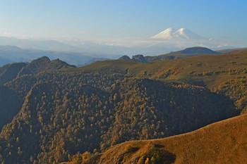 Приближаясь к Эльбрусу...... / КБР. Джилы-Су. Октябрь