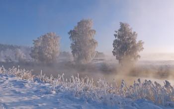 Много снега бывает / ***