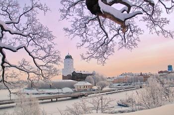 Выборгский замок / Зимние зарисовки Выборгского замка.