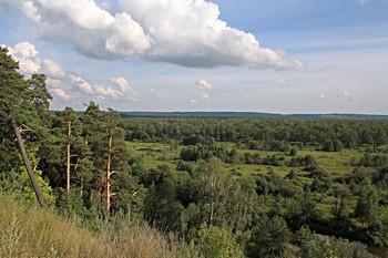 Красиво там, где нас нет. / Вокруг города Дзержинска Нижегородской области мнаго красивых мест.