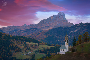 La Valle Wengen / Доломиты, Италия