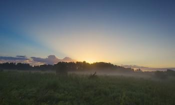 ЧУдное утро / Туманные рассветы.