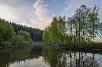 Утро весны / Пейзаж Беларуси