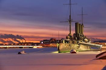 утро нового дня / Ночные зарисовки Питерской зимы  #Санкт-Петербург#февраль 2019#красивыефотографии#красивые #утро#Алабушев