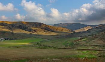 долина в Шамахы / Снимок сделан в Азербайджане