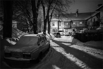 Соцгород / Февраль 2019. Nikkor AF 24/2.8D
