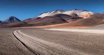 Цвета Альтиплано / Высокогорное плато Альтиплано, Боливия