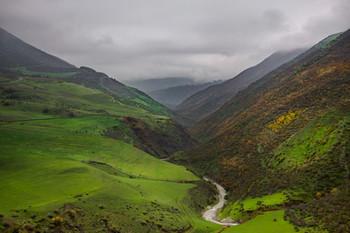 Горная река Виляш / Снимок сделан в Ярдымлинском районе Азербайджана