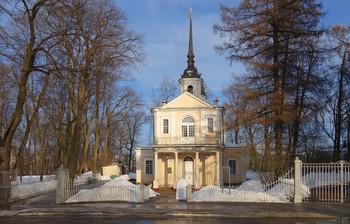 Утро в марте... / Знаменская церковь. Царское Село.