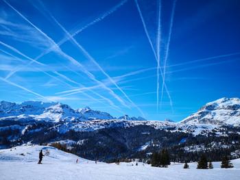 Небесный трафик / Альпы. Доломиты.