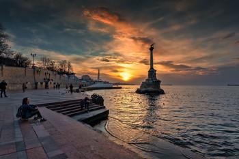 На закате дня / Крым,Севастополь