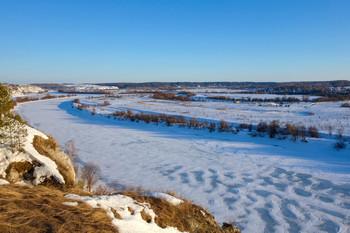 Река Сылва.Пермский край / Кунгурский район