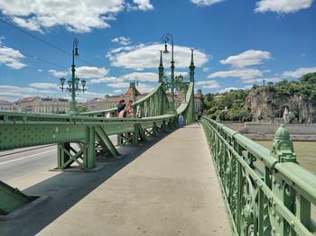 Без названия / Мост Свободы в Будапеште