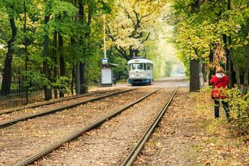 Городские маршруты / Популярный и богатый историей маршрут трамвая № 27 города Москвы. Запущен в 1912-м году.