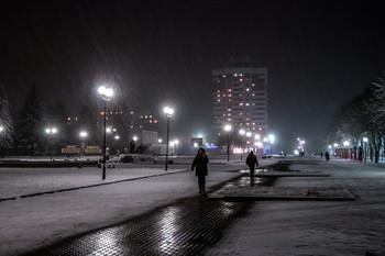 Городские маршруты / Ночной город