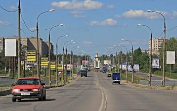 Городские маршруты / Южный въезд в город Дзержинск.