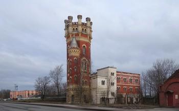 Старая башня... / Водонапорная башня Обуховского завода