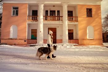Весенняя зима / модели Юлиана Смирнова и Лора причёска Галина Князева